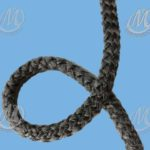 3357C Cross Knit Graphite Coated Rope